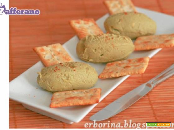 Formaggio spalmabile all'avocado