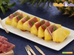 Prosciutto e ananas