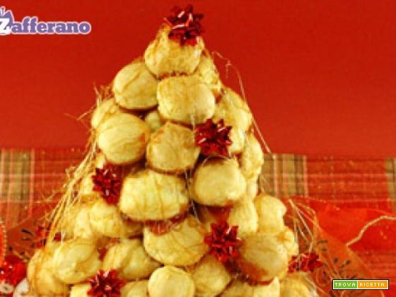 Croquembouche di Natale