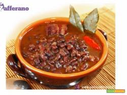 Zuppa di fagioli neri alla messicana