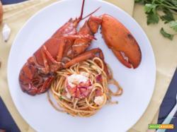 Spaghetti con astice in bellavista