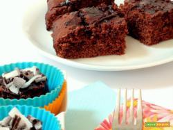 una non torta di compleanno, una delizia cioccolatosa