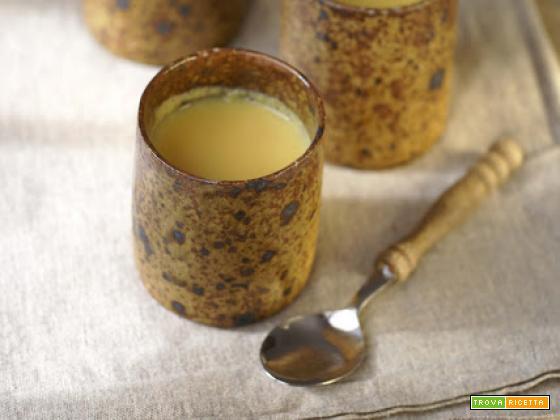 Petits pots de crème allo zenzero e zafferano, una casuale metafora della famiglia