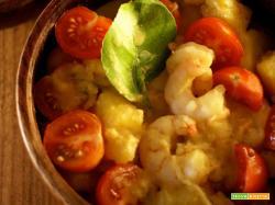 Curry di gamberi all'ananas e latte di cocco...sapori e dissapori intorno al mondo