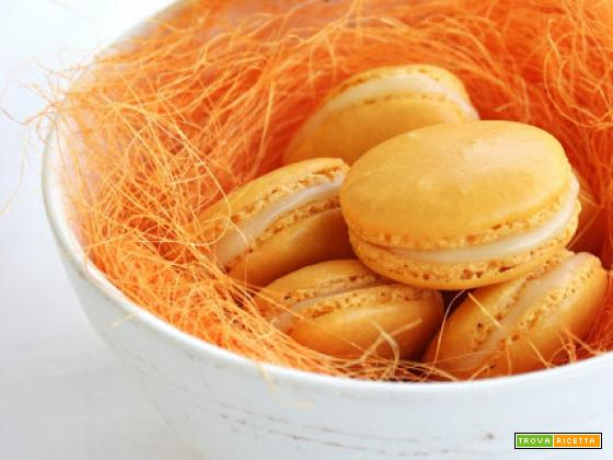 Macarons Orange