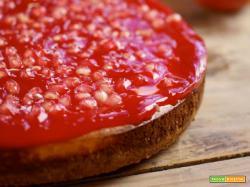 Cheesecake al gelo di melograno...ogni chicco, un sogno