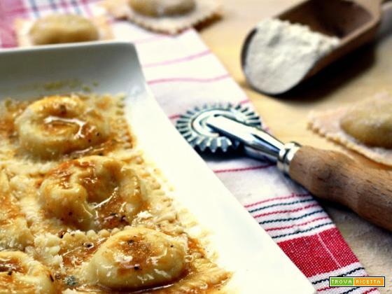 tortelli di patate e limone per non buttare il sugo dell'arrosto