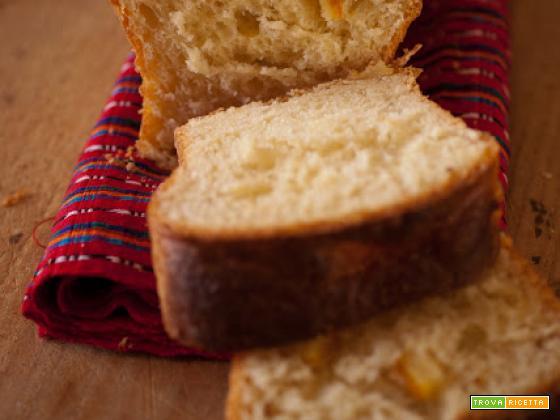 Pan Brioche alle scorze d'arancia e limone...memorie durante le feste
