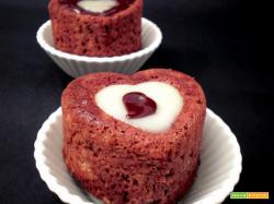 muffin con cuore di cocco, ovvero un cuore nel cuore