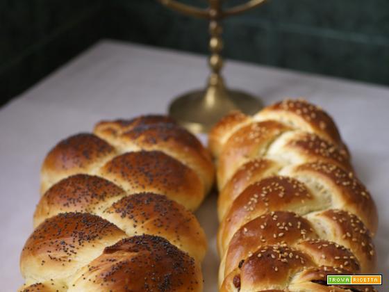 La ricetta del MTC di ottobre è....il pane dolce dello Shabbat