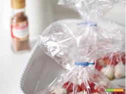Polpettine di ricotta, basilico e noce moscata con i pomodorini