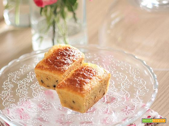 Mini cakes (leggeri) con farina di riso e latticello