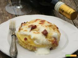 Lasagne verza, salsiccia e brie