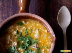 Zuppa di pollo e finocchi e il mago inverno