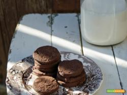 Biscotti al cioccolato e fior di sale...per ricominciare in dolcezza!:D