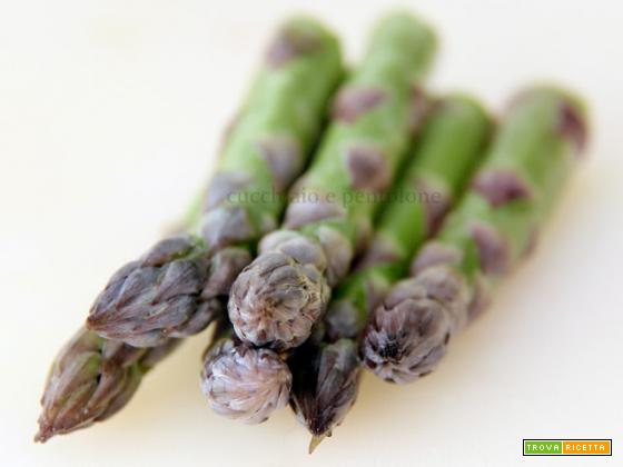 risotto con fragole e asparagi