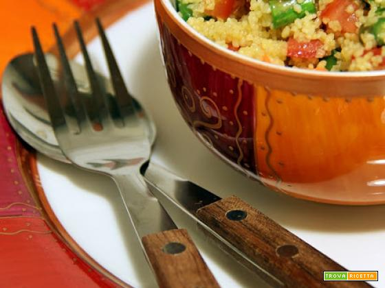 cous cous alle verdure croccanti e spezie