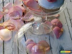 Tortine glassate allo sciroppo di rose