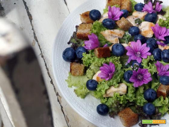 Pink salad...femminilità al cubo!