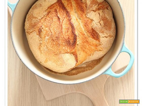 No knead bread, il pane senza impasto (finalmente!)