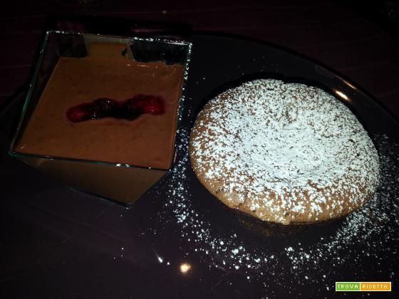 Minicake con cuore fondente