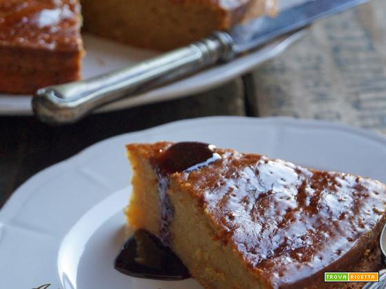 Banana Cake with Brown Sugar Syrup