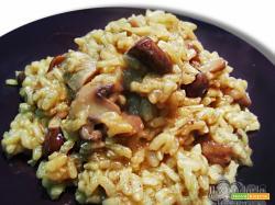 Risotto porcini champignon e curry