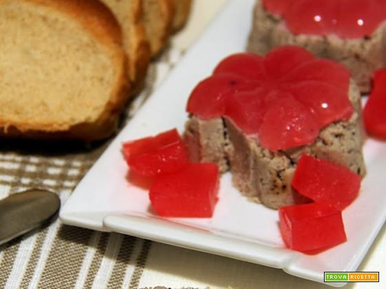 patè di coniglio con gelatina di ribes per la rubrica cuciniamo con quello che c'è!