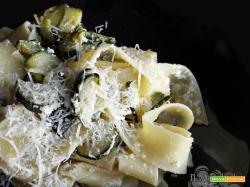 Pappardelle zucchine e ricotta