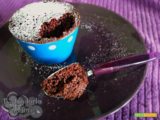 Torta e cup cake in tazza al microonde