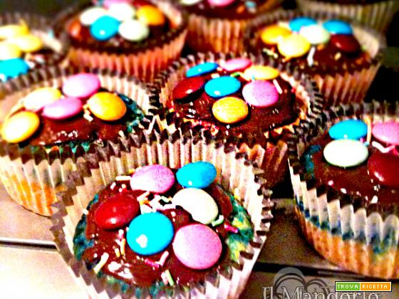 Cupcake multicolor