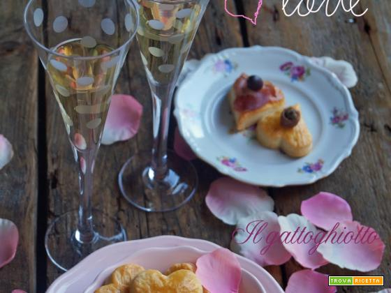 Cuoricini cacio e pepe...with love!