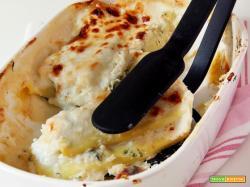 cannelloni di magro con pasta di kamut e farro