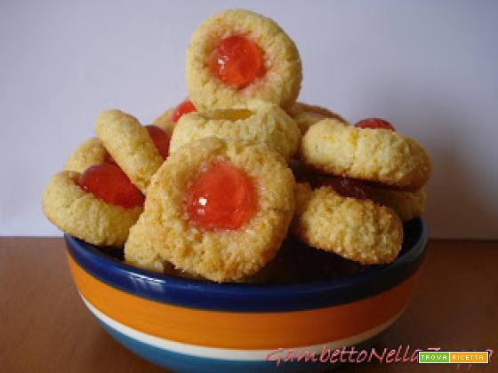 Pasticcini di pasta di mandorle al mandarino