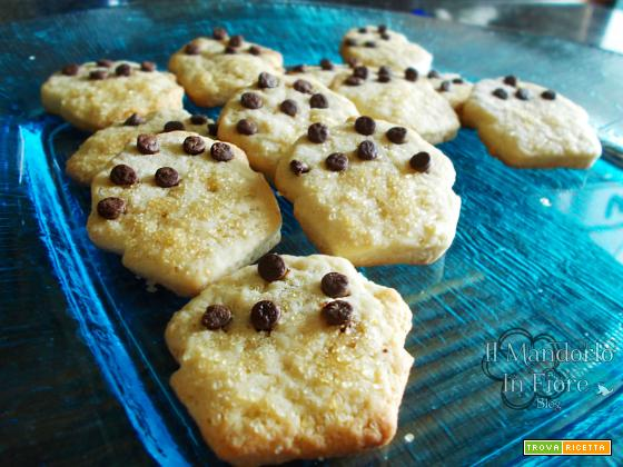 Biscotti al farro con gocce di cioccolata