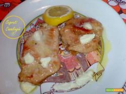 ricetta petto di pollo al burro e limone