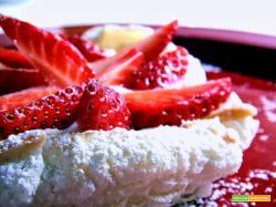 Un rientro dolce...e leggero: dessert alle fragole