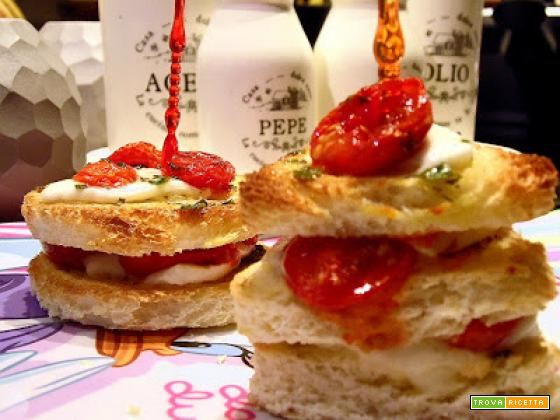 Mini toast per piccoli e grandi