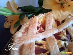 Torta Salata Speck Ricotta