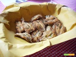 Sardine fritte con Panure aromatica