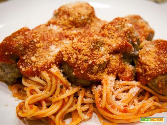 Bimby, Spaghetti with Meatballs o Spaghetti con Polpette al Pomodoro
