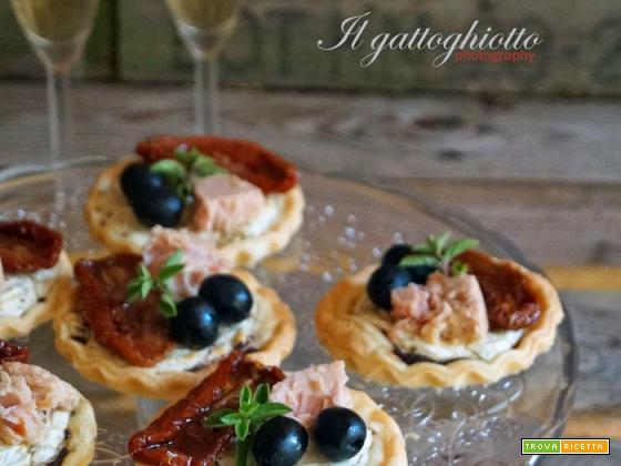 Tartellette mediterranee