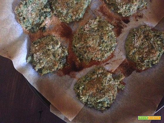 Burger di spinaci e grano saraceno