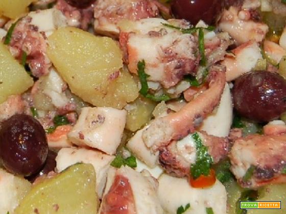 Bimby, Insalata di Polpo, Polipo e patate