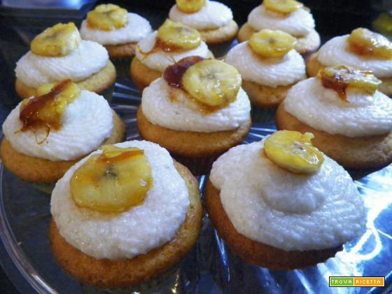 Cupcake alla banana