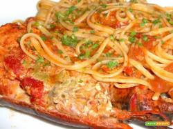 Bimby, Tagliolini all'Astice con Salsa alla Rucola