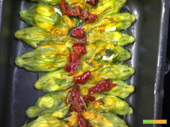 Non il solito fiore...di zucchina!