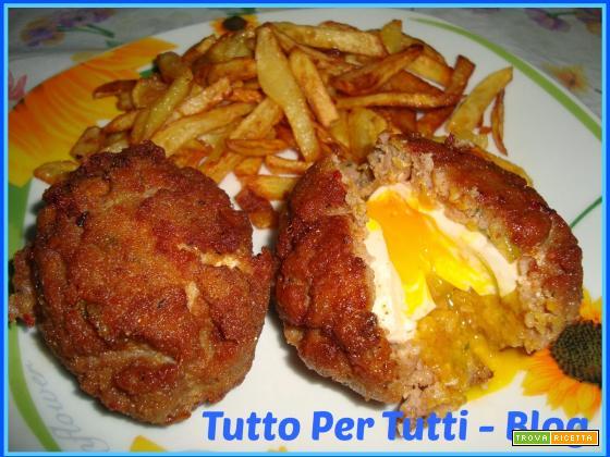 CUCINA - SECONDO PIATTO - SCOTCH EGGS uova Scozzesi