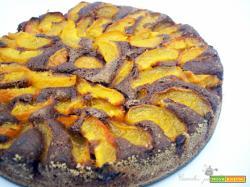 Torta al Cacao con Albicocche fresche