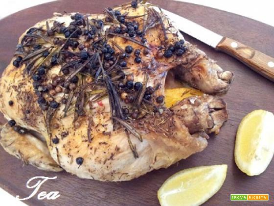 Pollo Arrosto aromatizzato al Limone